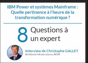 Avis d'expert Power et Mainframe
